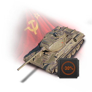 Т-34-85М в наборе Twitch Prime WOT