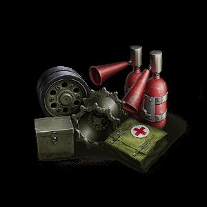 Ремкомплект, аптечка, огнетушитель World of Tanks