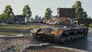 "2D стиль ""Let's Rock"" World of Tanks"